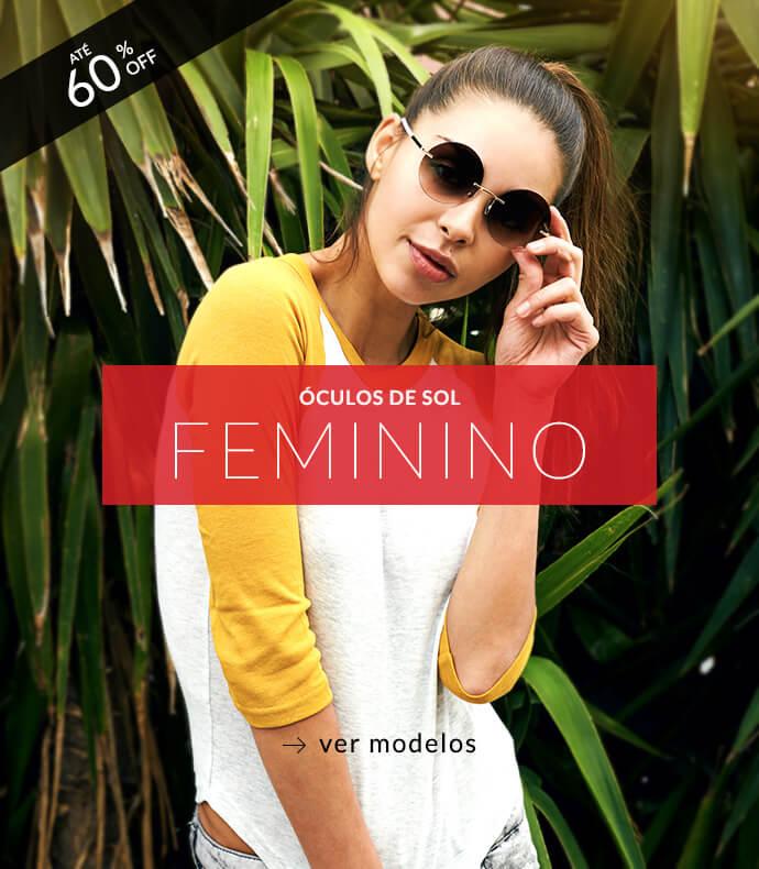 Óculos de Sol Feminino. Ver modelos b055ea4b19