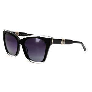Oculos-SOLAR-Sabrina-SS657-C1-Preto-Brilho-Degrade